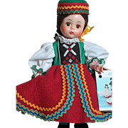 Madame Alexander Czechoslovakia  Doll  Mint in box  ALEX on her back  1973-75