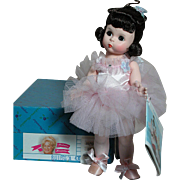 Madame Alexander Doll Ballerina Mint in  box