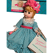 Madame Alexander Doll Miss Muffet Miniature Showcase  MIB    1980s