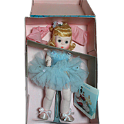 Madame Alexander Doll Ballerina  Blonde Blue Outfit Mint in Box