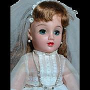 Ideal Miss Revlon Doll  Bride Swivel Waist Marked Ideal Doll VT-20