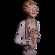 Deco Style Half Doll