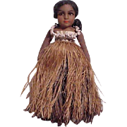 Beautiful Cloth Doll Representing Hawaii
