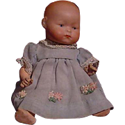 German Baby With Unusual Facial Expression