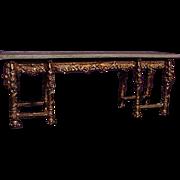 Ornate Miniature Table Designed By Eugene Kupjack