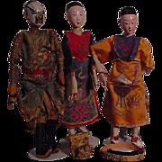 Three Chinese Opera Dolls