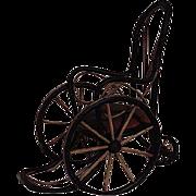Vintage Doll Wheel Chair