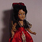 "15"" Composition Spanish Lady"