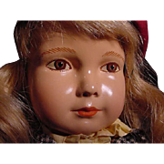 Rarely Found Effanbee American Child With Painted Eyes