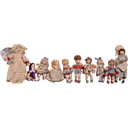 Cloth Grecon Characters With Metal Feet