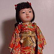 Japanese Lady With Delicately Detailed Face
