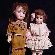A Pair Of German Children