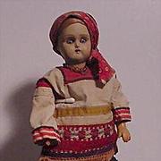 Russian Lady In Regional Costume