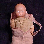"""7"""" German Baby With Bisque Head"""