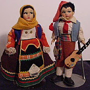 Pair of Magis Italian Characters