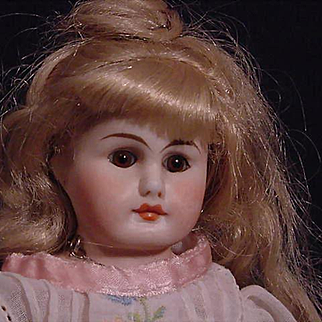 Petite German Dome Head Doll