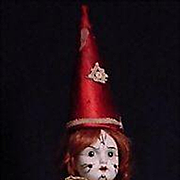 Unusual French Bisque Clown