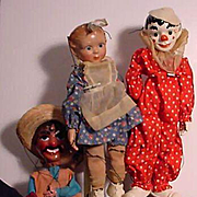 Two Effanbee Marionettes