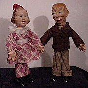 Mortimer Snerd And Fanny Brice