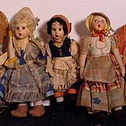 Lenci Small Dolls