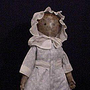 Primitive American Cloth Doll