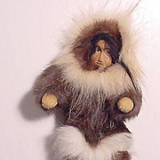Native American Alaskan Eskimo Doll