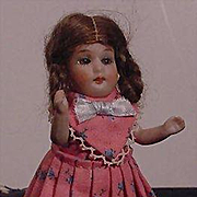 German All Bisque Child With Open And Close Eyes