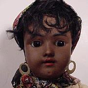 Dark Skinned Heinrich Handwerck/ Simon & Halbig Doll