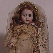 Simon And Halbig 886 All Bisque Doll