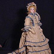 French Fashion Doll In Original Costume
