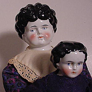 German Pair Of China Dolls