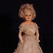 """11"""" Papier Mache Lady"""