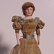 German Doll House Doll
