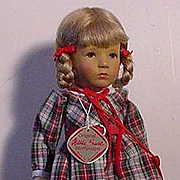 Mint Condition Kathe Kruse School Girl