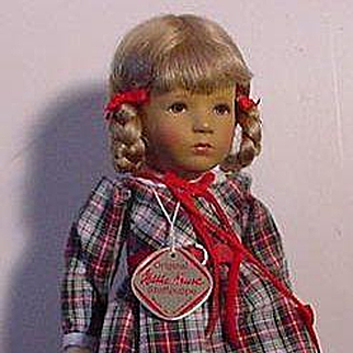 Mint Condition Kathe Kruse School Girl
