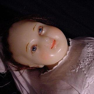 Beautiful Poured Wax Baby