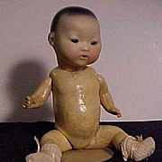 German Oriental Character Baby