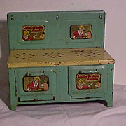 Little Orphan Annie Metal Stove