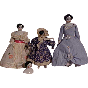 Four Doll House Size Chinas