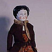 Center Part China In Colorful Costume