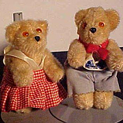 Pair Of German Petz Bears