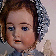 German Doll Made For The French Market On French Walking Body