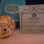 "Bilston & Battersea Enamels Halcyon Days Revival ""Easter Egg 1979"""
