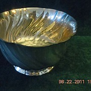 Vintage Stieff Pewter Bowl made for the Smithsonian Institute