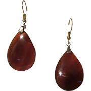 Antique Carnelian Agate Drop earrings - Red Tag Sale Item
