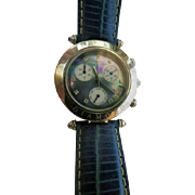 Klaus Kobec Couture Sports Diamond Watch