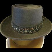 Vintage Mens Dobbs Saks fifth avenue Fedora hat in box