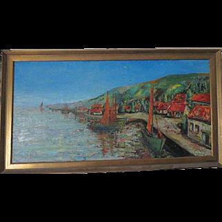 Johan Dykstra (1896 - 1978)  original art oil Painting with appraisal
