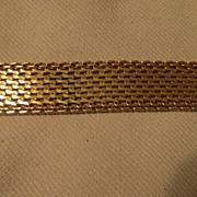 Vintage hobe Gold tone bracelet  signed  hobe