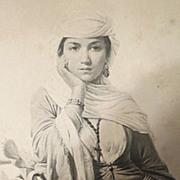 Antique print coupil et cie engraving c.h.e lecompte vernet pinx Rebecca